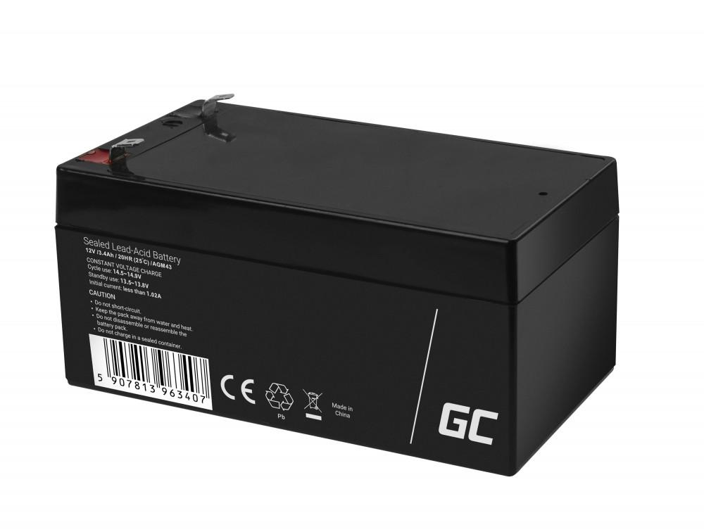 AGM Batteri 12V 3.4Ah