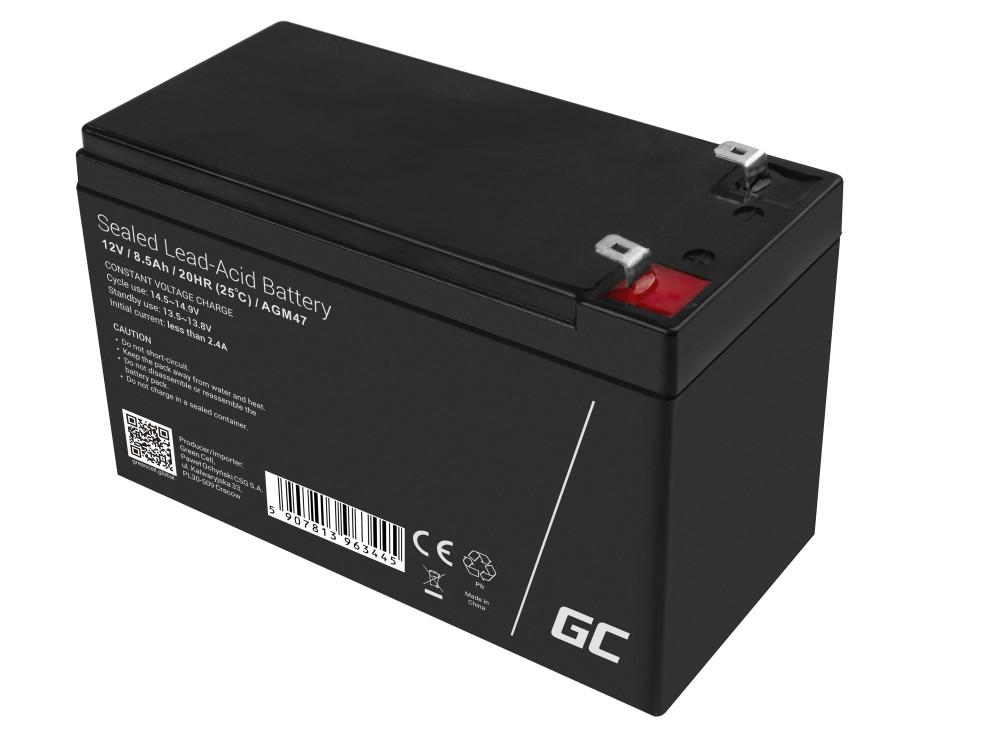 AGM Batteri 12V 8.5Ah