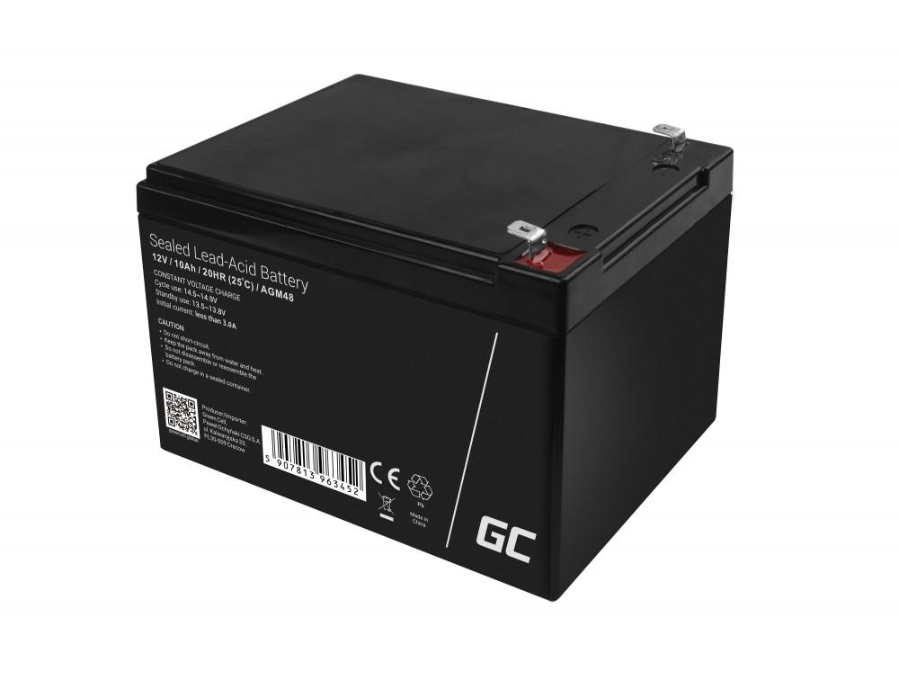 AGM Batteri 12V 10Ah