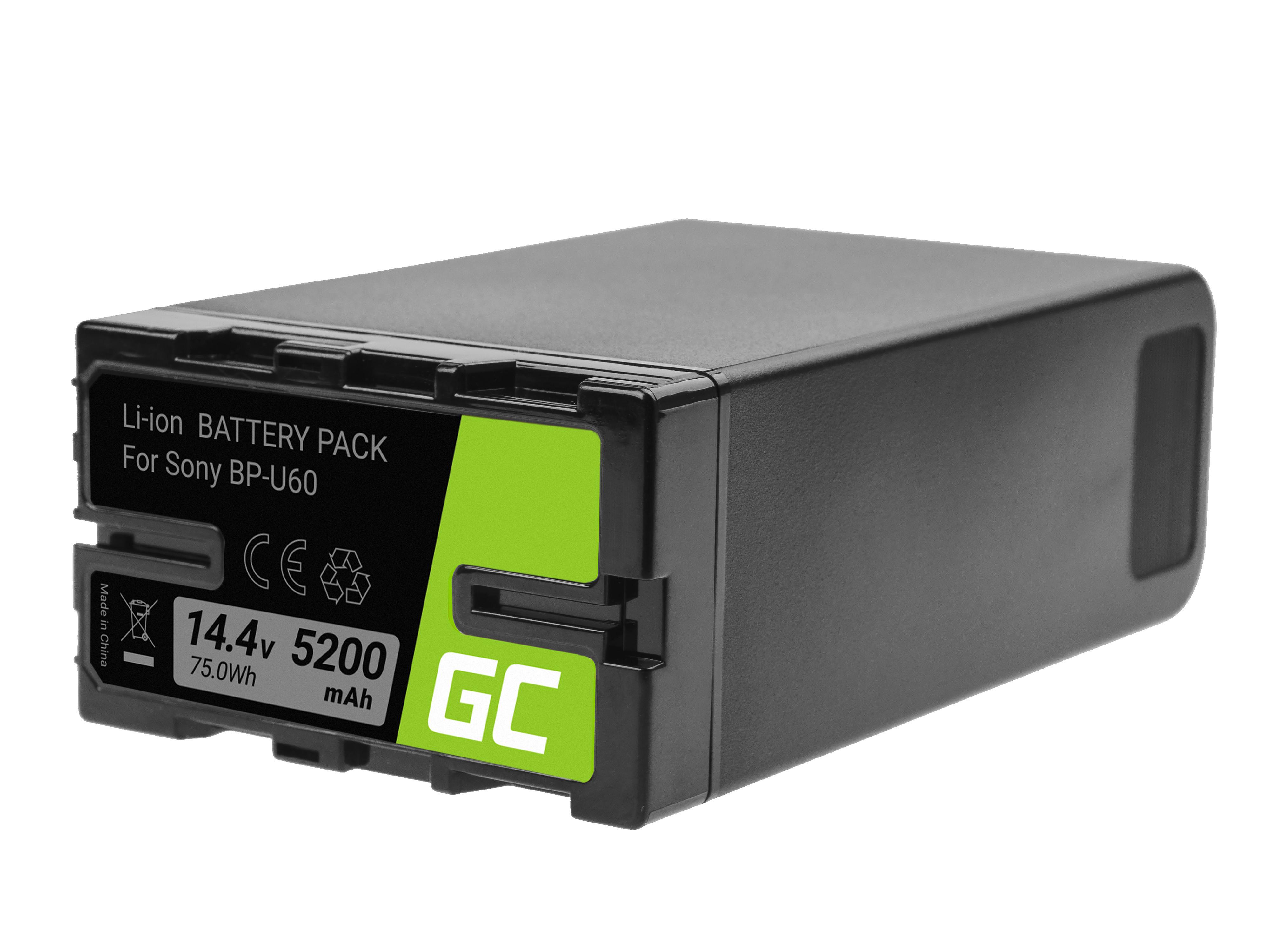 Batteri BP-U90 BP-U60 BP-U30 för Sony 5200mAh 75Wh 14.4V