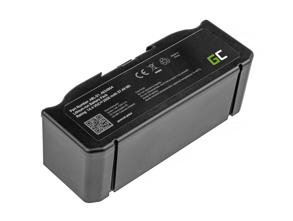 Batteri (2,6Ah 14,4V) ABL-D1, 4624864 för iRobot Roomba e5, e6, i3, i3+, i7, i7+, i8, i8+