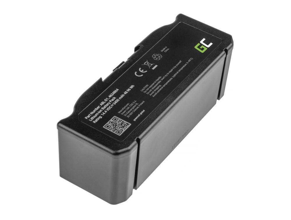Batteri (3,4Ah 14,4V) ABL-D1, 4624864 för iRobot Roomba e5, e6, i3, i3+, i7, i7+, i8, i8+