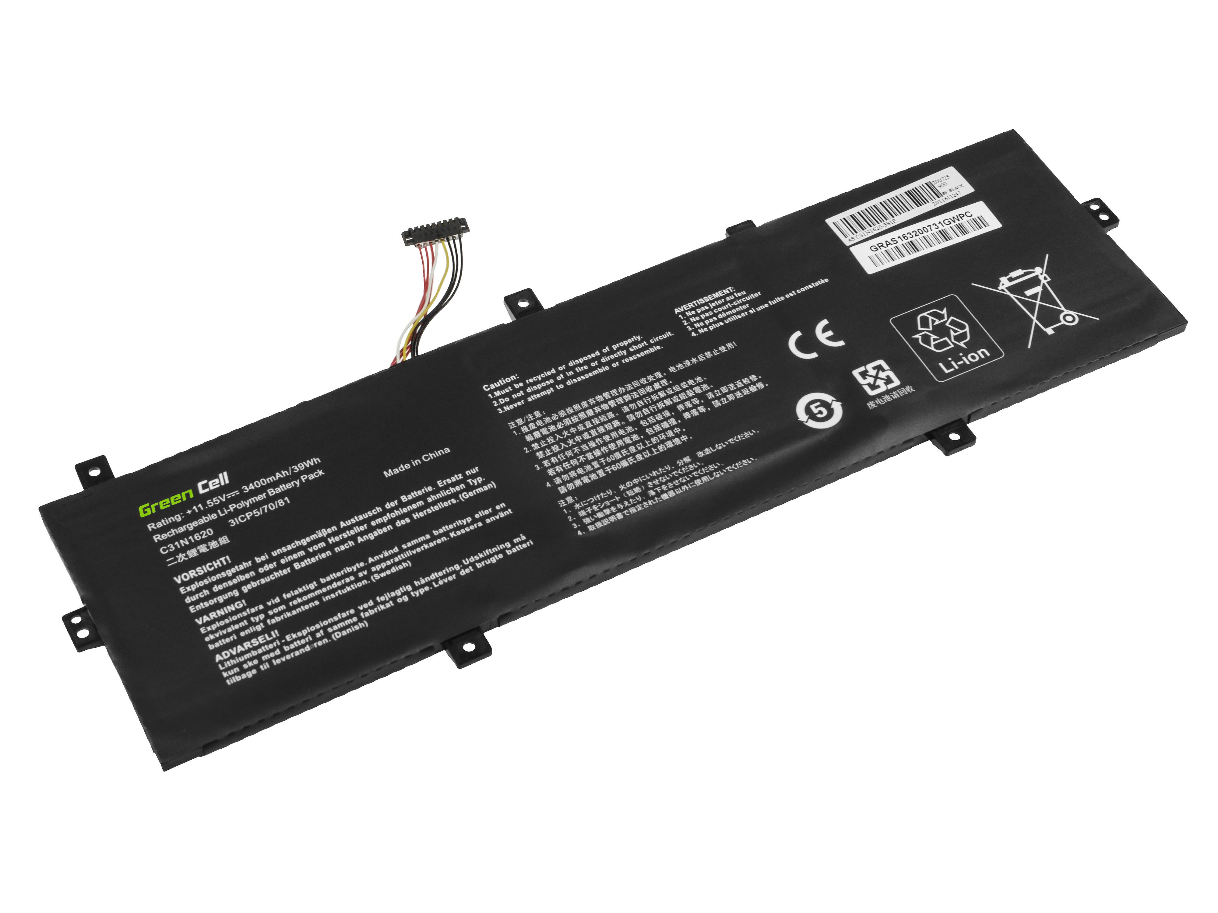 Battery C31N1620 for Asus ZenBook UX430 UX430U UX430UA UX430UN UX430UQ