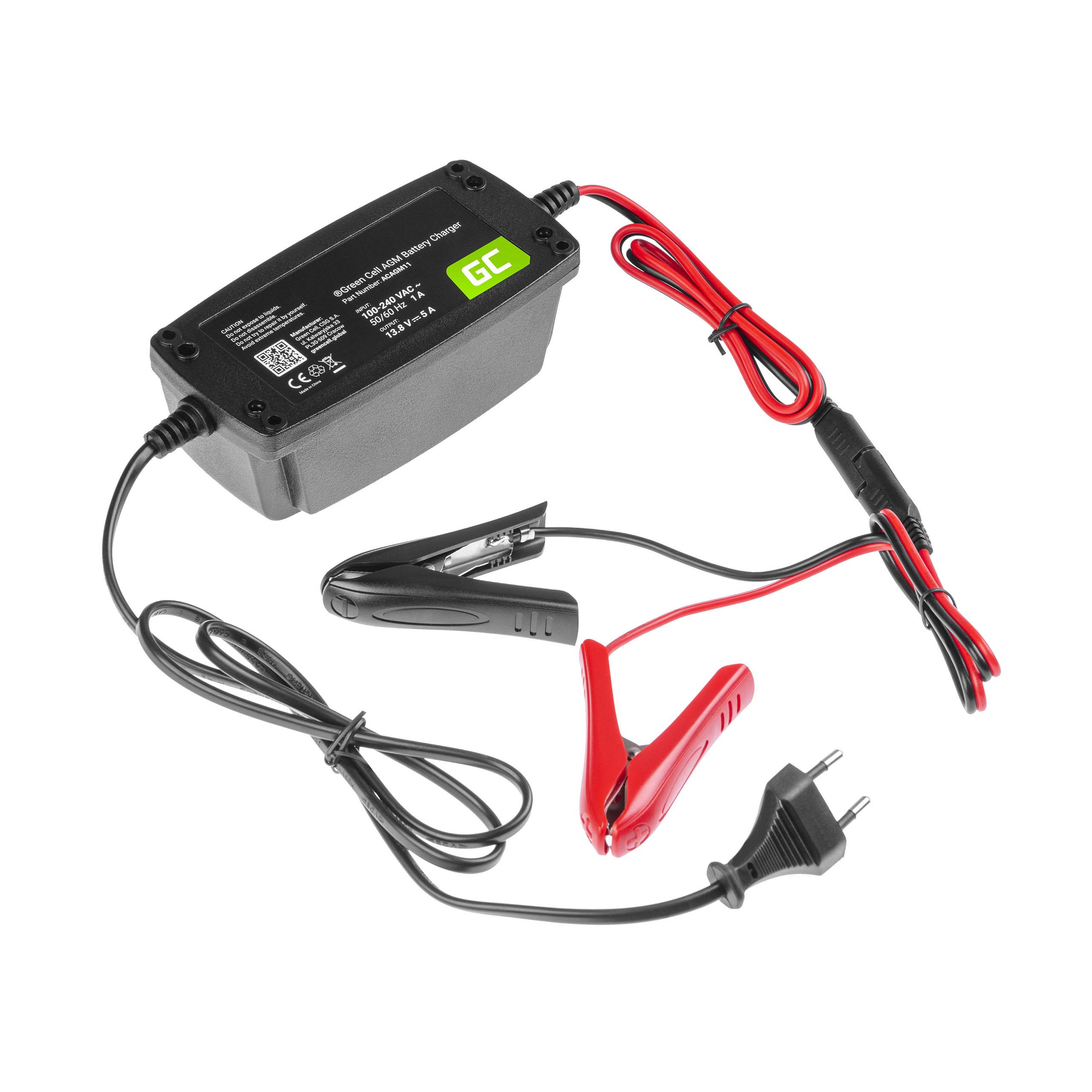 Ładowarka, prostownik do akumulatorów 12V (5A)