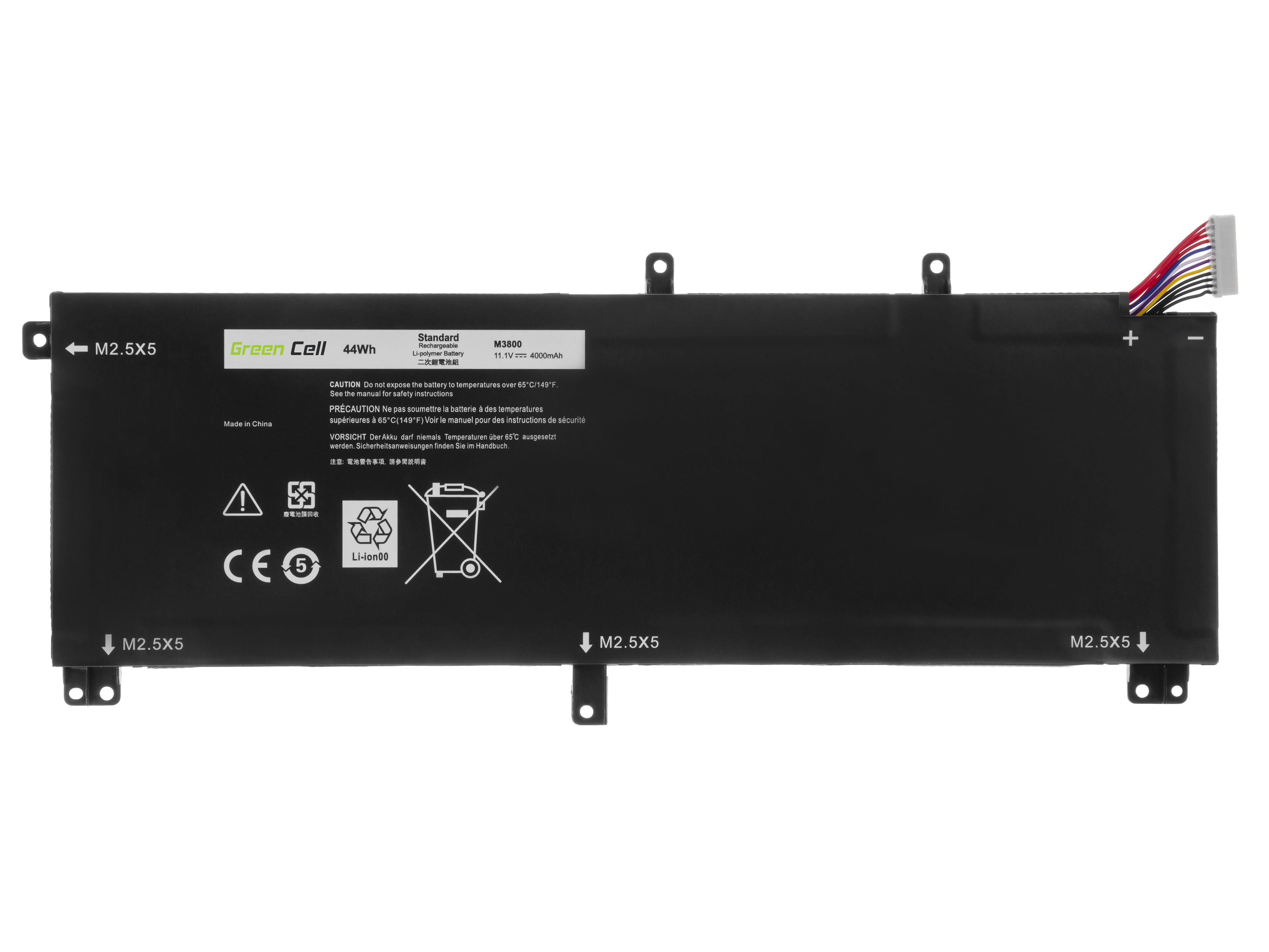 Battery 245RR T0TRM TOTRM for laptops Dell XPS 15 9530, Dell Precision M3800
