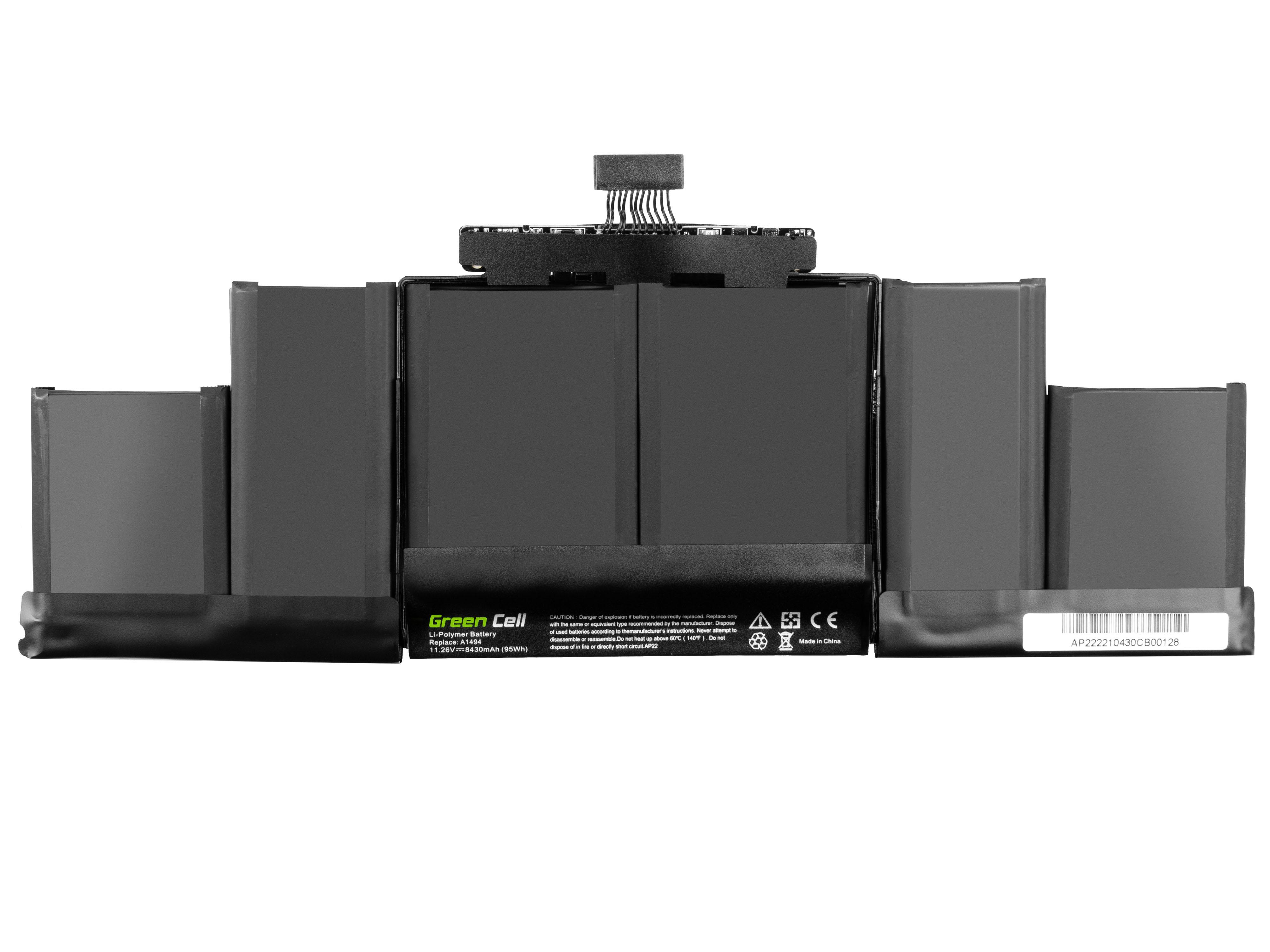 A1494 für Apple MacBook Pro 15 A1398 (Late 2013, Mid 2014)