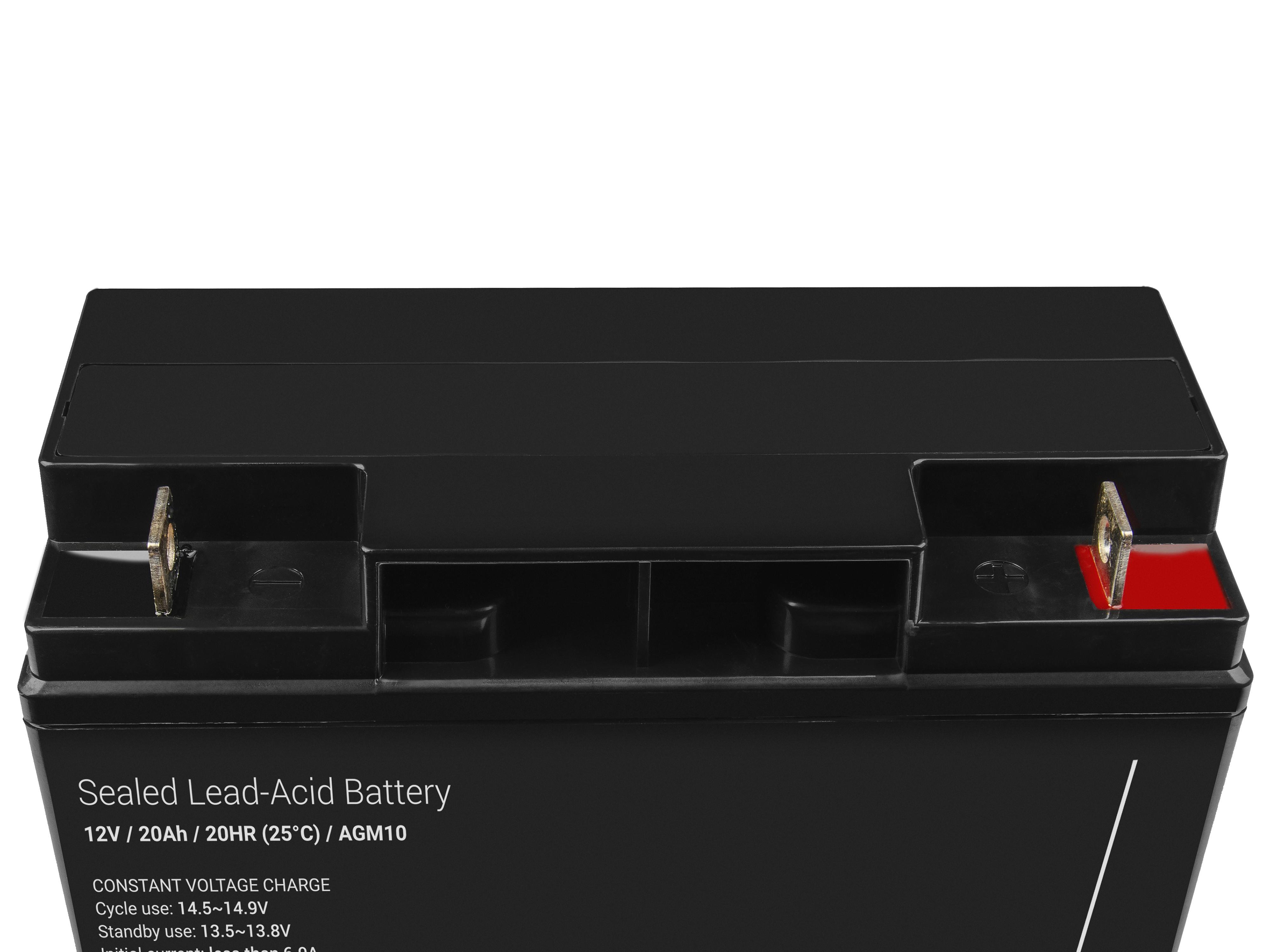 Green Cell AGM Batteri 12V 20Ah